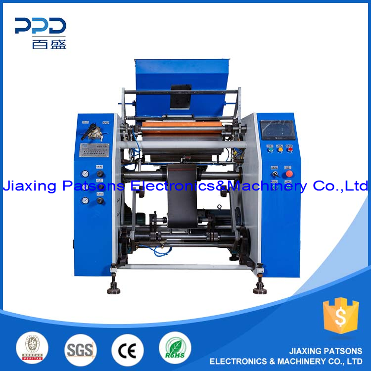 Food Cling Wrap Film Rewinding Machine